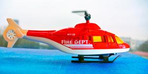 Вертолёт пожарных.  Новые игрушки для мальчиков.  Новые видео для детей.